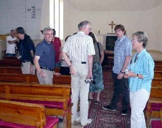 Protestant Church Group from Giengen Germany