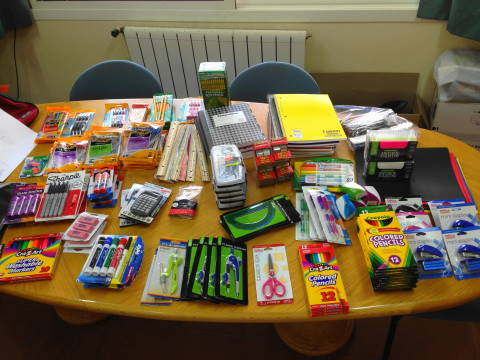 Stationery Items Donated by Shalabies