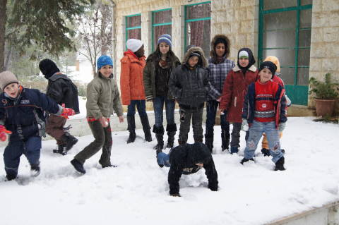 JLSS Children Enjoying the Snow